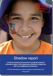 Shadow Report Cover
