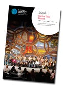 Cover of 2008 Native Title Report
