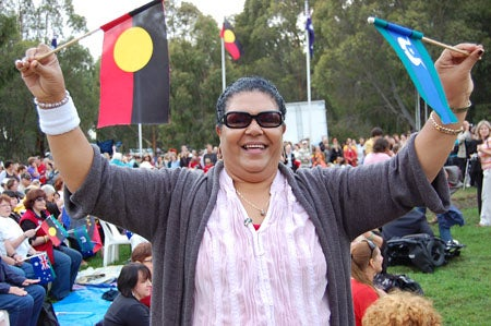 Indigenous layd holding up