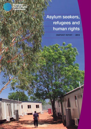 Cover - Asylum seekers, refugees and human rights