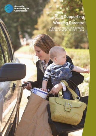 Cover - Supporting Working Parents