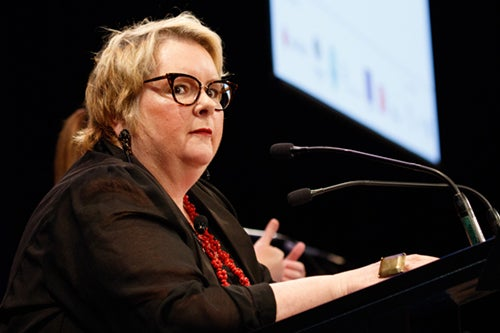 Magda Szubanski at MC of the 2016 Human Rights Awards