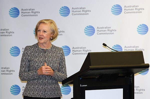 Commission President Professor Gillian Triggs