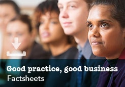 Good practice, good business Factsheets