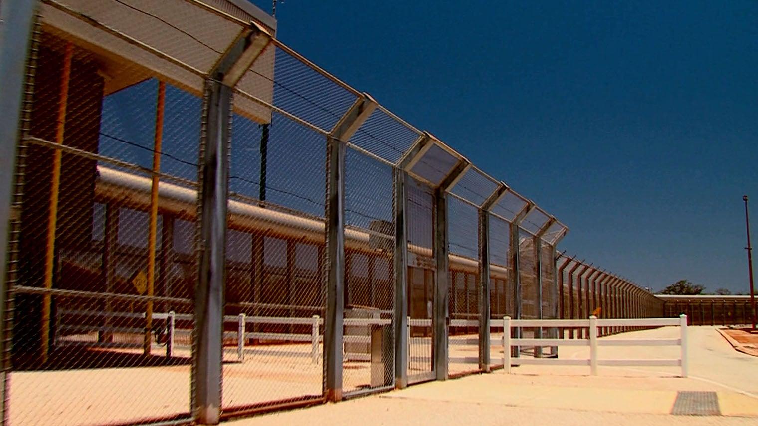 photo of a jail premises
