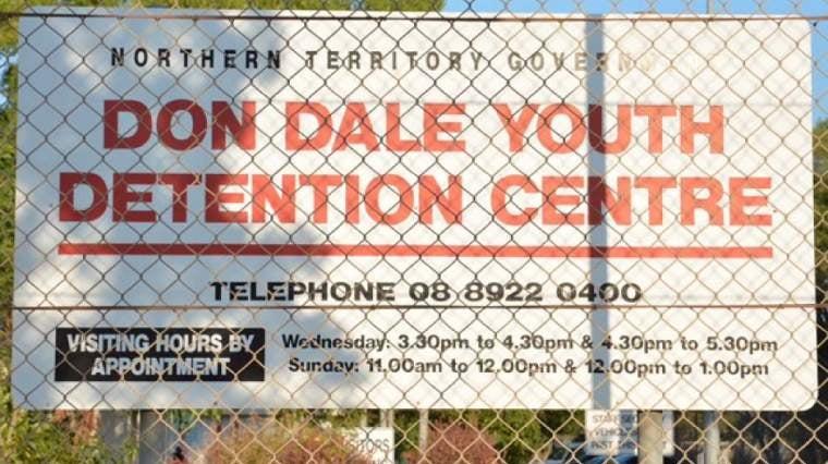 Don Dale detention centre sign