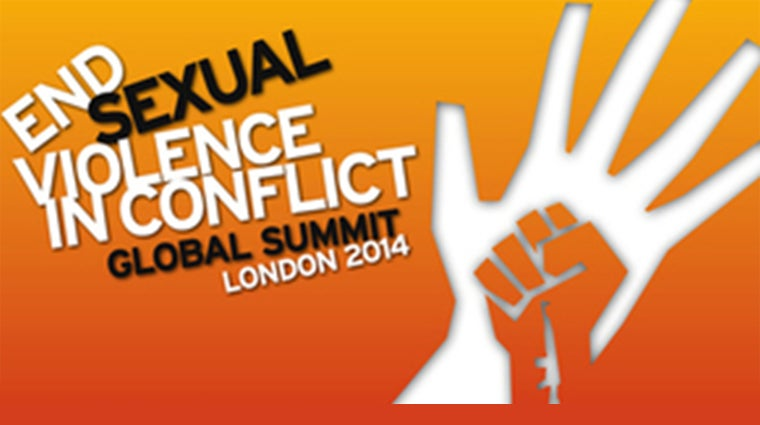 Logo - End Sexual Violence in Conflict global summit, London 2014