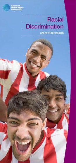 Racial Discrimination Brochure Cover