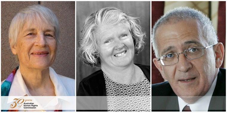 Dr Elizabeth Evatt, Ms Rosemary Kayess, Mr Chris Sidoti