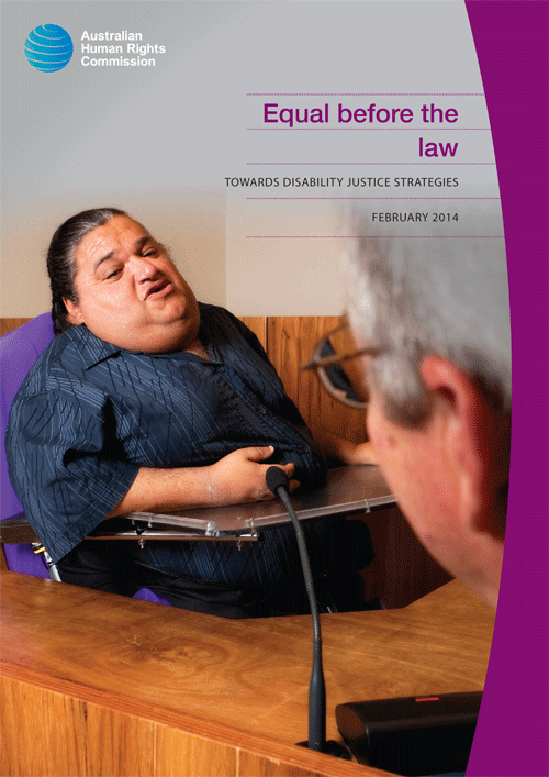 Equal Before the Law: Towards Disability Justice Strategies (2014)