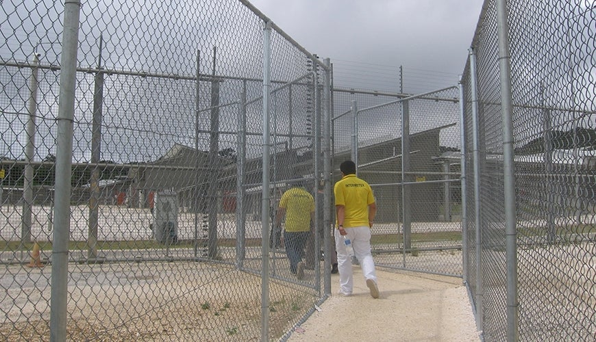 Christmas Island Immigration Detention Centre, 2010