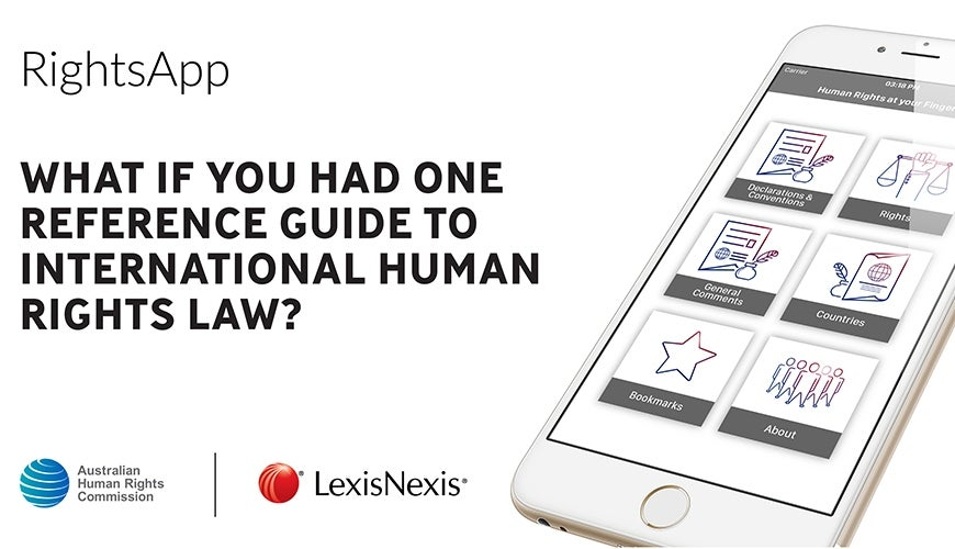 RightsApp What if you had one reference guide to international human rights law?