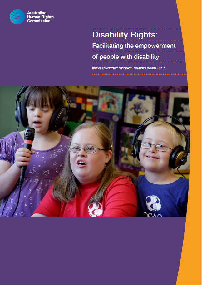Cover of Disability Rights resource