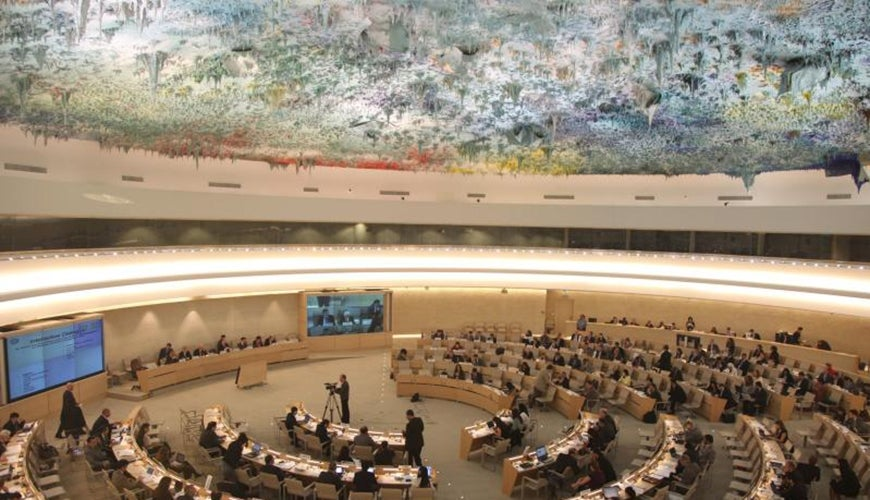 UNHCHR council chamber