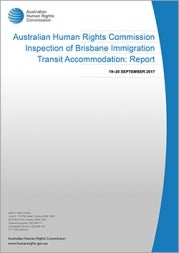 Brisbane Immigration Transit Accommodation: Report (2018) cover