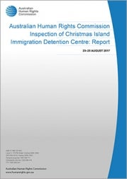 Christmas Island Immigration Detention Centre: Report (2018) cover