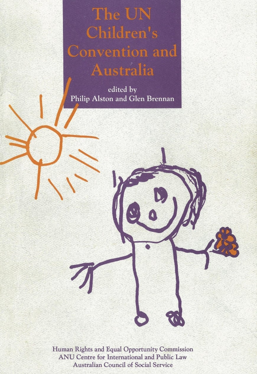 Cover of 1991 report, Australia and the CRC
