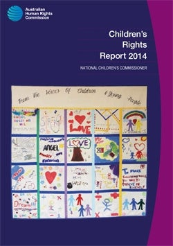 Cover - Children's Rights Report 2014