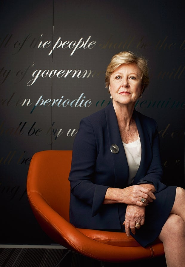 Professor Gillian Triggs, President of the Commission