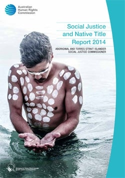 Cover - Social Justice and Native Title Report 2014