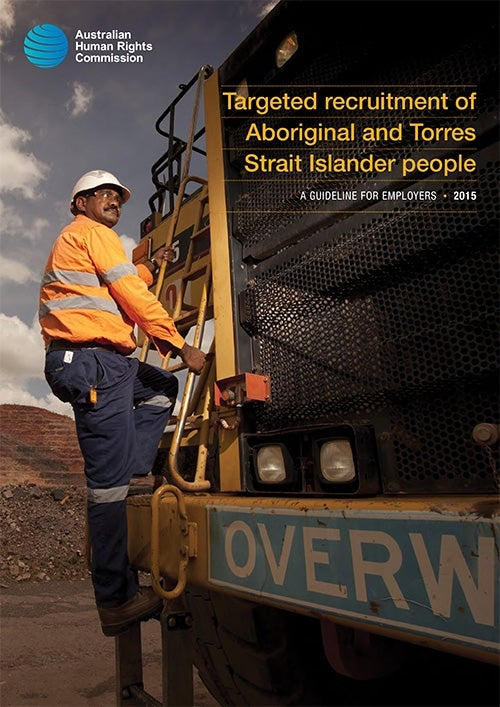 Targeted recruitment of Aboriginal and Torres Strait Islander people