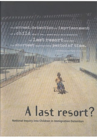 Cover - A last resort