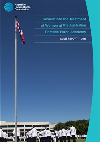 Cover - Audit Report: Review into the Treatment of Women at the Australian Defence Force Academy