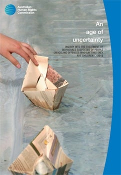 Cover - An age of uncertainty