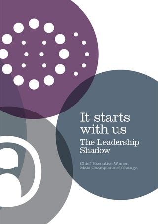 Cover - It starts with us: The Leadership Shadow