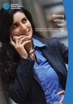 Report cover - women talking on her mobile