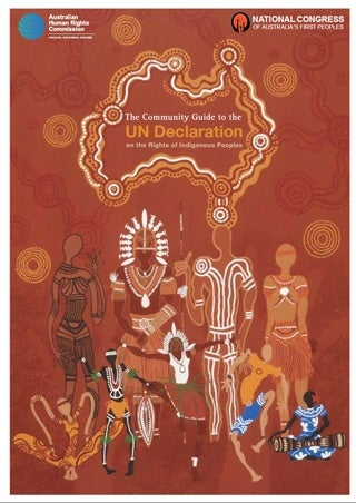 Cover of the Community Guide to the UN Declaration on the Rights of Indigenous Peoples