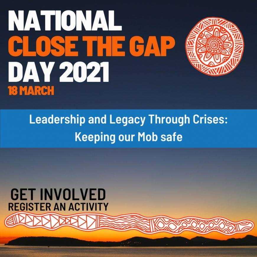 Today is National Close the Gap Day 2021