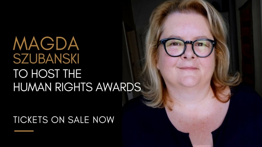 Magda Szubanski to host the 2016 Human Rights Awards
