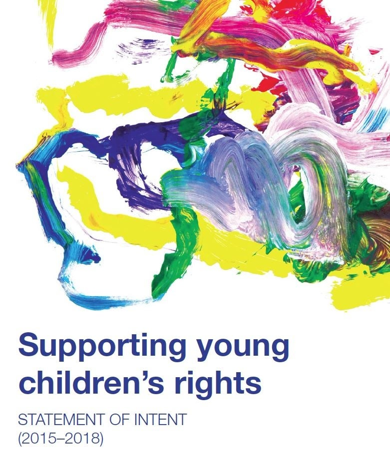 Supporting young children's rights