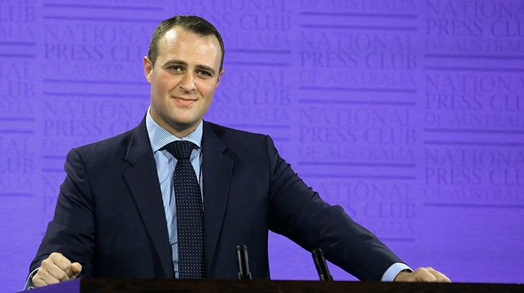 Tim Wilson picture courtesy National Press Club