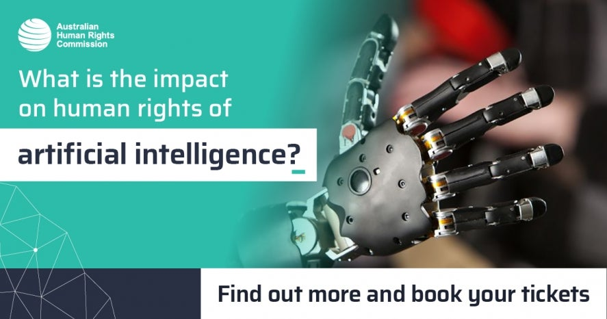 What is the impact of artificial intelligence on human rights? Major international conference. Get your tickets now.