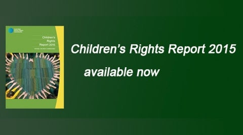 Children's Rights Report 2015 - available now