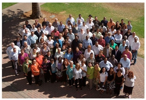 Photo: participants at the National Indigenous Representative Body workshops