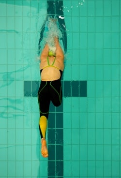 Photo: Swimmer with disability