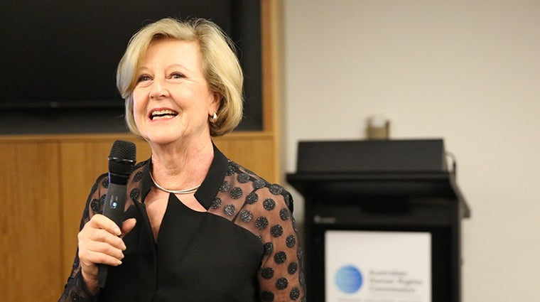Gillian Triggs at farewell 2017