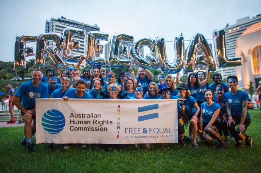 Australian Human Rights Commission, free and equal