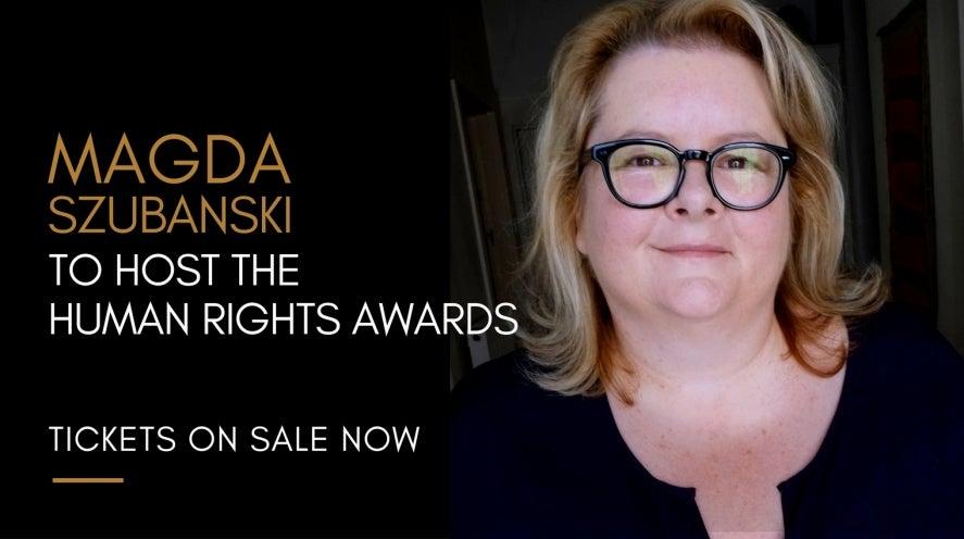 Magda Szubanski to host the 2016 Human Rights Awards