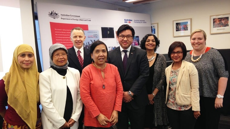 "Commission hosted seminar on Ms Lies Marcoes's book, ""A Journey against Defeat: Narratives of Women's Rejection of Poverty"