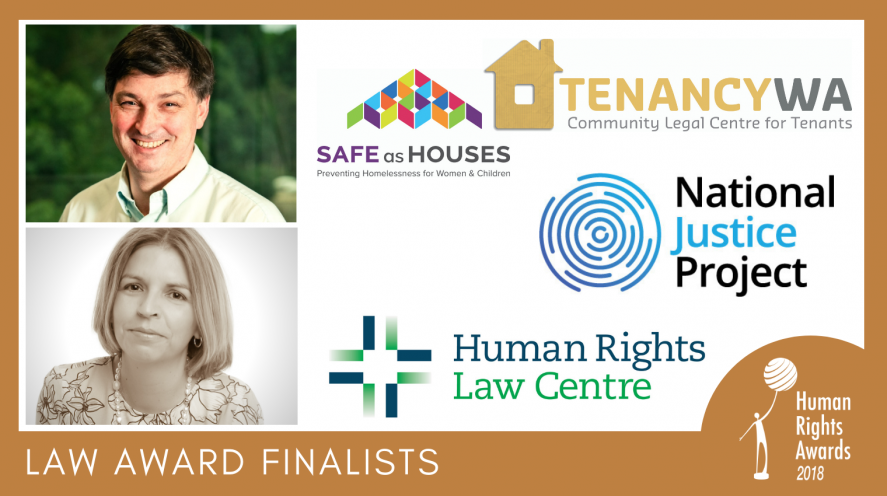 Law award finalists 2018