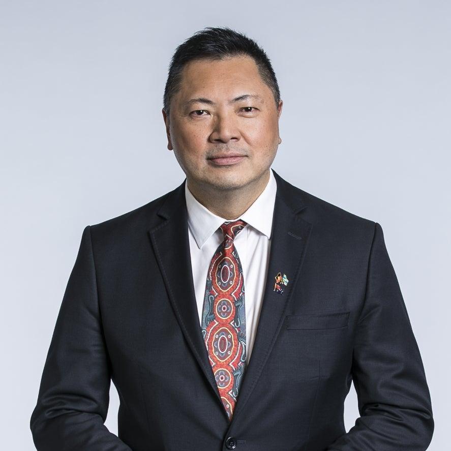 Race Discrimination Commissioner Chin Tan