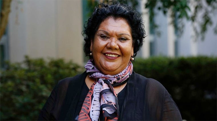 Commissioner June Oscar. Photo courtesy ABC TV