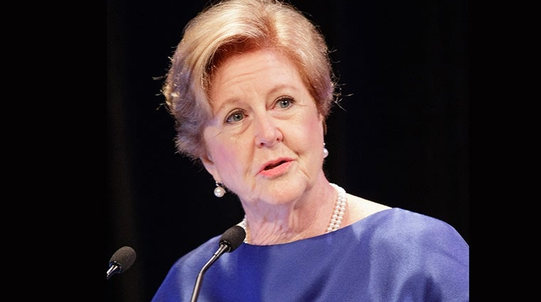 Gillian Triggs at the 2015 Human Rights Awards. Photo by Matthew Syres