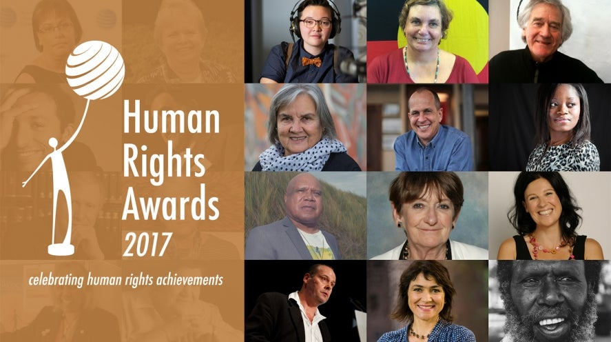 Previous winners of the Human Rights Medal and Awards