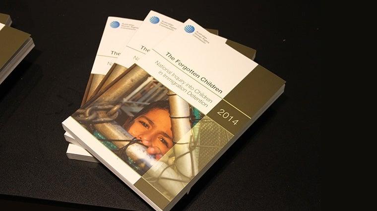 cover of Forgotten Children Report
