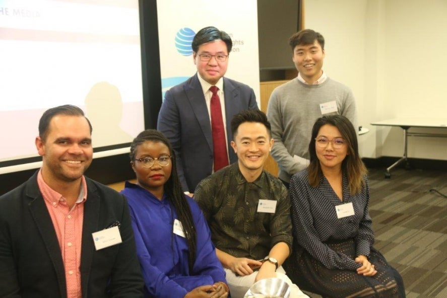 National forum panellists with TIm Soutphommasane